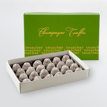 Champagne Truffles Classic Box 4,9,16,24,32,36,48,72 pieces