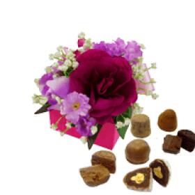 9 pc Flower Box