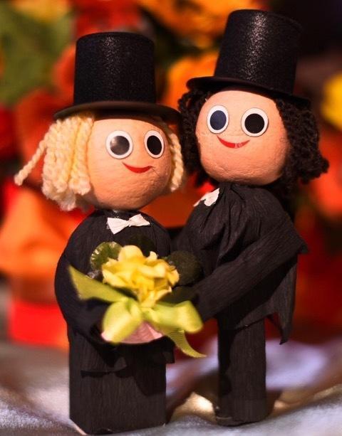 Bridal Couple: Man & Man - 2 pcs Box